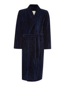 Linea Stripe Fleece Robe