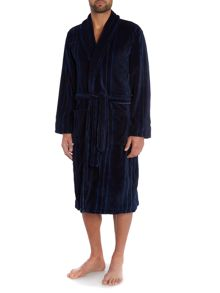 Stripe Fleece Robe