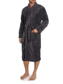 Marl Fleece Mens Robe