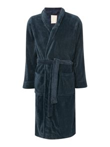 Linea Marl Fleece Mens Robe