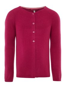 Joules Girls swing shaped cardigan