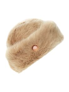 Karah faux fur hat