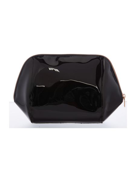 Ted Baker Tillies black large bow cosmetic bag