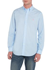 Plain Custom Fit Long Sleeve Shirt