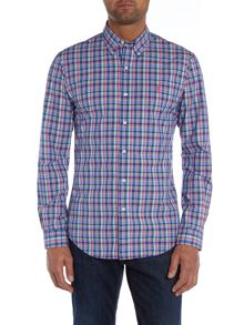 Polo Ralph Lauren Slim Fit Check Long Sleeve Shirt