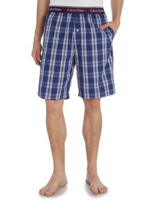 Check Nightwear Shorts