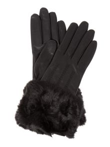 Jania fur lined leather glove