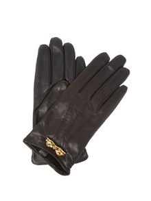 Ted Baker Bowra metal bow leather glove