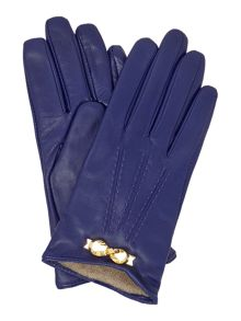 Bowra metal bow leather glove