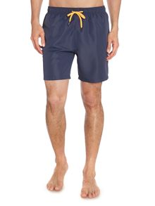 Drawstring Plain Swimming Shorts
