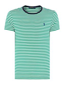 Men's Polo Ralph Lauren Custom Fit Contrast Stripe