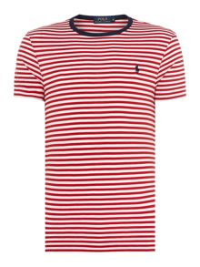 Custom Fit Contrast Stripe T-Shirt