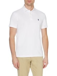 Plain Custom Fit Pima Soft Touch Polo Shirt