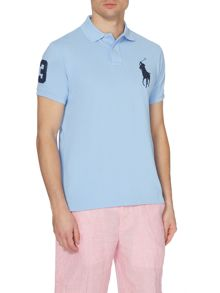 Plain Custom Fit Polo Shirt