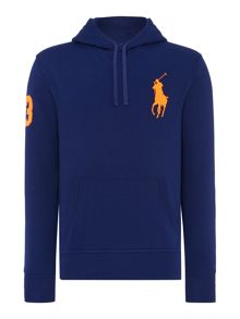 Polo Pony Hooded Sweater