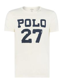 Polo Ralph Lauren Custom Fit Logo Crew Neck T-Shirt