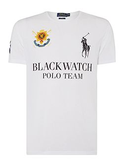 Men's Polo Ralph Lauren Black Watch Polo Logo