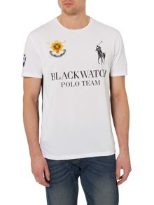 Black Watch Polo Logo Custom Fit T-Shirt