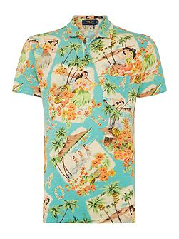 Men's Polo Ralph Lauren Luau Print Custom Fit