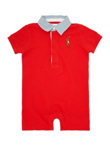 Baby Boys Shortall Big Rugby Polo