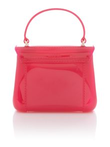 Candy pink crossbody bag