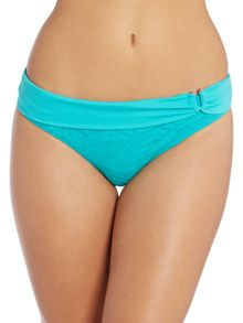 Linea Weekend Crochet Stripe Bikini Brief