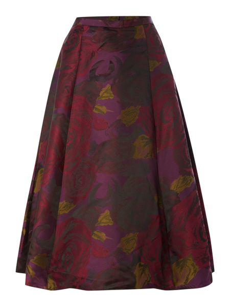 Adrianna Papell Floral skirt