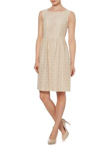 Max Mara Sequoia sleeveless lace dress
