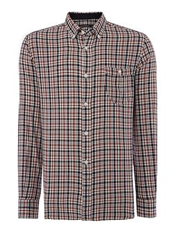 Lifeline Check Slim Fit Long Sleeve Shirt
