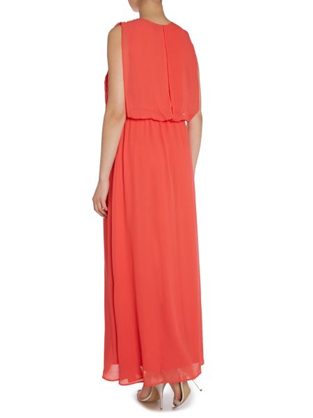Y.A.S. Sleeveless maxi dress with pleat top