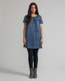 East Geo Patchwork Dress