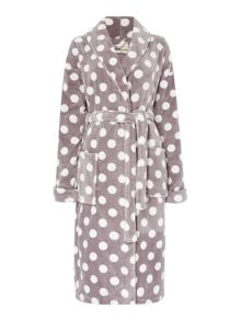 Dickins & Jones All over print Shawl Robe