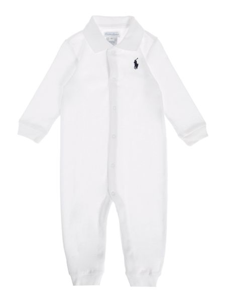 Polo Ralph Lauren Baby Boys Pony Player Polo All In One