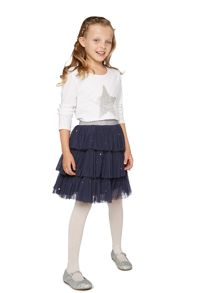 Girls Maryam layered sequinned tutu