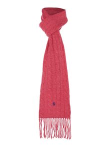 Polo Ralph Lauren Cabel Knit Long Scarf