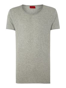 Hugo Plain Scoop Slim Fit T-Shirt