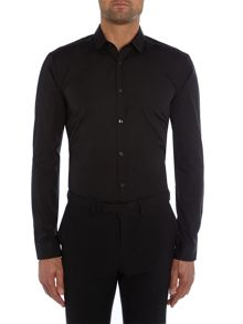 Hugo Ero3 Slim Fit Shoulder Detailing Shirt