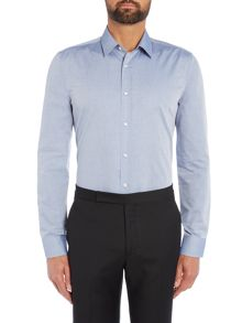 Hugo Elisha Slim Fit Textured Shirt