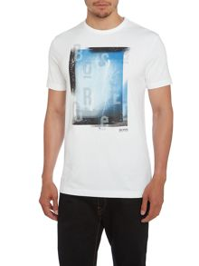 Lightning Slim Fit Graphic T-Shirt