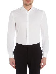 Jaiden Slim Fit Double Cuff Textured Shirt
