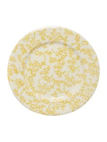 Dickins & Jones Yellow floral side plate