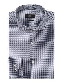 Hugo Boss Jaser Slim Fit Geo Print Shirt