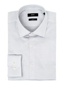 Hugo Boss Jenno Slim Fit Pin Dot Texture Shirt