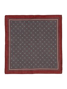 Hugo Boss Patterned Pocket Square