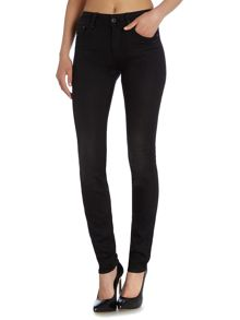 G-Star 3301 contour high skinny jean in slander black