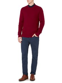 Linea Riley Textured Crew Neck Jumper