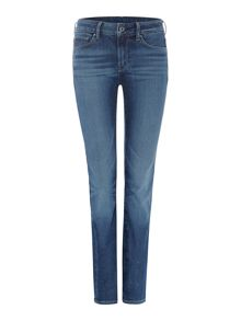 3301 contour high straight jean in nippon denim