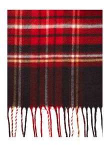 Linea Blanket Check Wide Scarf