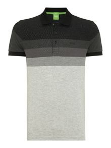 Engineered Stripe Slim Fit Polo