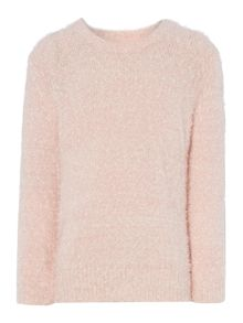 Little Dickins & Jones Girls Fluffy jumper